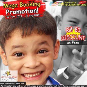 2020 - Booking - Mega Promotion Registration - Little Caliphs Program