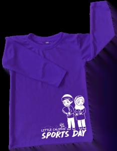 Little Caliphs Annual Sport Attire purple-Tadika Khalifah budiman