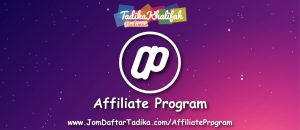 Program Affiliate JomDaftarTadika