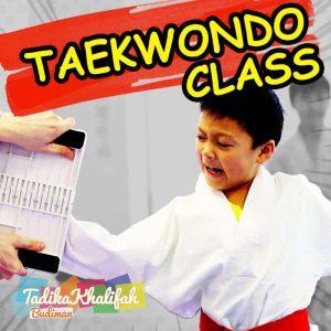Kelas Taekwondo untuk kanak-kanak