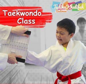 Taekwondo-Class-Tadika-Khalifah-Budiman