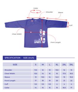 lc sport day tshirt