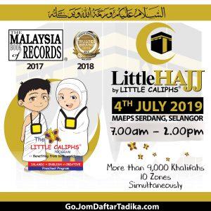 Little Hajj 2019-Tadika Khalifah Budiman