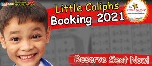 booking 2021-Little Caliphs kindergarten