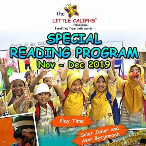 Special Reading Program Little Caliphs Program