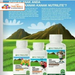 NUTRILITE Chewable Kids (100 tab)-01