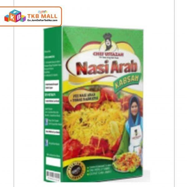 Nasi Arab Kabsah Kotak (Rempah)-01