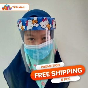 Face Mask Shield Kids Combo - (Hello Kitty)-01-01