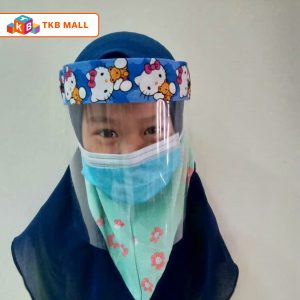 Face Mask Shield Kids - (Hello Kitty)--01