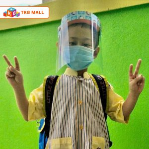 Face Mask Shield kids (pingu) 2-TKB MALL