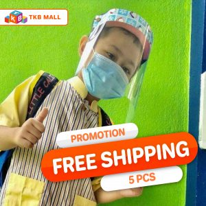 Face Mask Shield kids (pingu) 5 FREE SHIPPING-TKB MALL